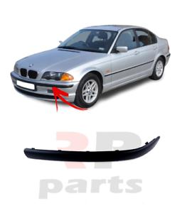 Pour-BMW-3-E46-1998-2001-Neuf-Avant-Pare-Choc-Moulure-Bord-Plastique-Gauche-N