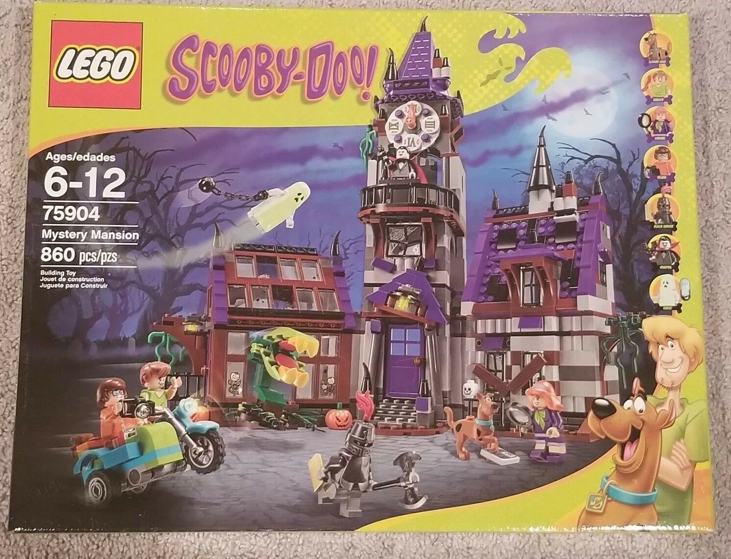 Lego Scooby -Doo Mystery Mansion (7504)