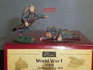Britains 17915 Régiment allemand du 84ème Régiment Von Manstein Wounded Dead Toy Soldier Set 783724179152