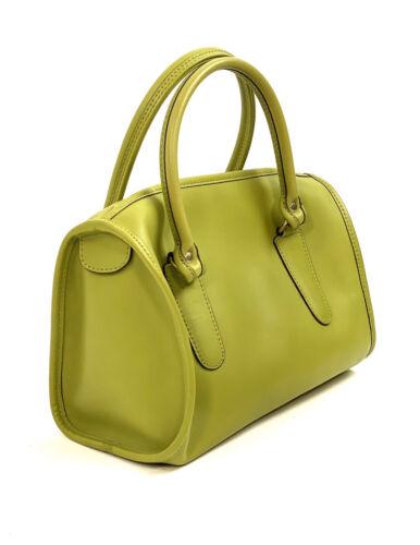 Vintage Coach Bag 17995 RARE Lime Green Madison Ba
