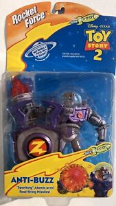 Disney-Pixar-Toy-Story-2-Anti-Buzz-5-034-Sparking-Atomic-Arm-1999-Mattel-Sealed
