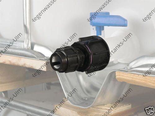 tenacité pour 25 mm Tubes pince connexion #f1600 Adaptateur IBC