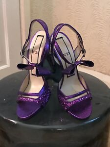 Tout Glitter Sandal Eur V Stiletto neuf No21 37 Purple WScRnHx16