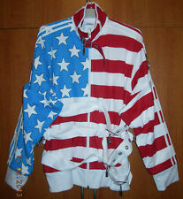 Adidas Jeremy Scott JS Stars & Stripes TT Track chaqueta superior EE. UU. Sz. M Opart X30164