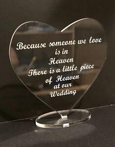 Wedding-Memorial-Sign-Plaque-Heart-With-Base