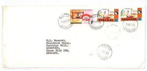 Hh214 1976 Bahamas Roses Devon Gb Airmail Cover {samwells Couvre -} Pts-rs}pts Fr-fr Afficher Le Titre D'origine