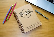 The Dissertation Planner A5 Notebook - the personal journal for thesis planning