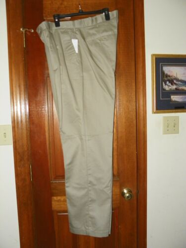 New Pants 75 Waist Casual W Big Khaki Msrp tags Color amp;tall Ext 42x36 Men's Izod pqpwnrABx