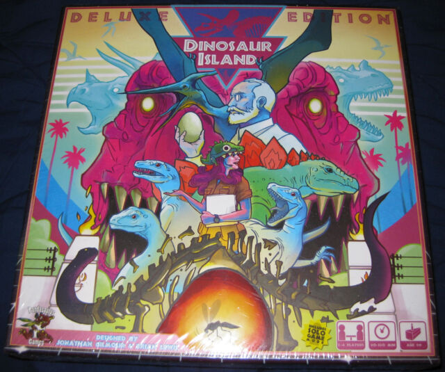 DINOSAUR ISLAND Park Deluxe Edition Pledge KickStarter Exclusive KS NEW  SEALED