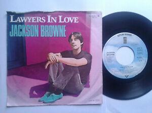 Jackson-Browne-Lawyers-In-Love-7-034-Vinyl-Single-1983-mit-Schutzhuelle