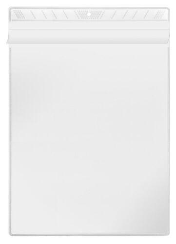 10x Veloflex A4 Sichttasche Sichthülle zum Aufhängen glasklar aus PP 3304000