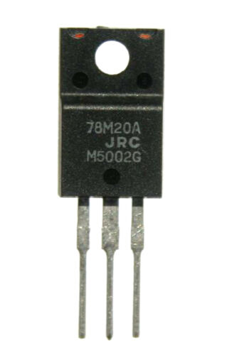 12pcs NJM78M20  500mA 20V  Voltage Regulator TO-220 Japan Radio Corporation JRC