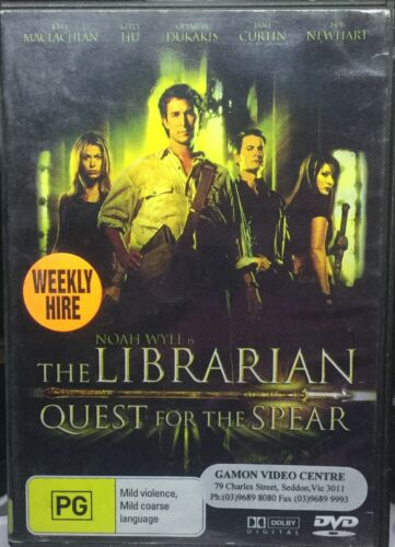 1 of 1 - The Librarian - Quest For The Spear (DVD, 2007)