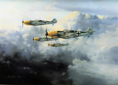 Art wall HD prints oil painting on canvas ww2 war Retro Vintage Fighter Gifts 03