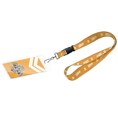 Wests Tigers NRL Lanyard Card Pocket Storage Poly Swivel Chain Hook GIFT