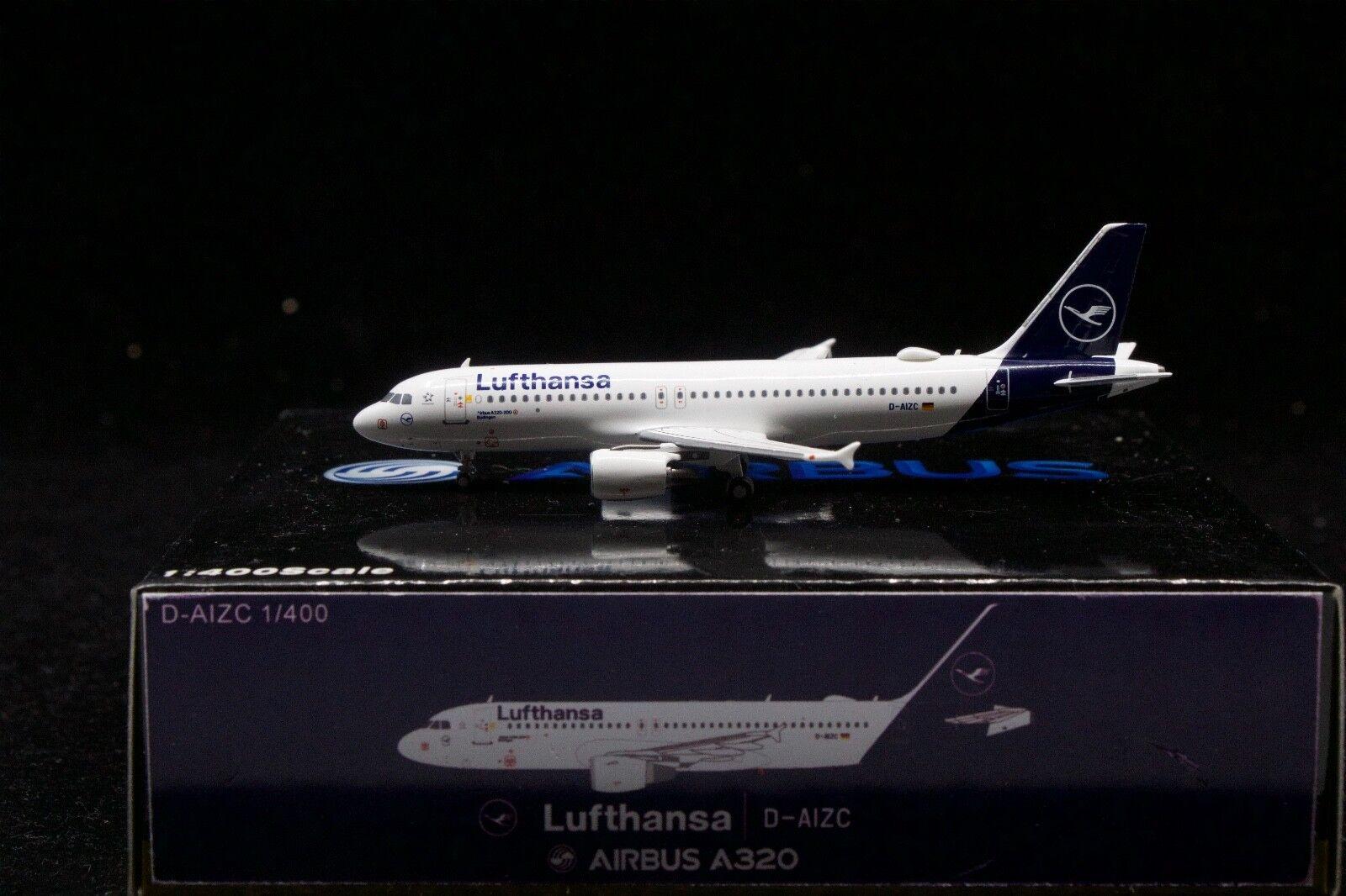Panda Models 1 400 Lufthansa A320-200 'Budingen' D-AIZC