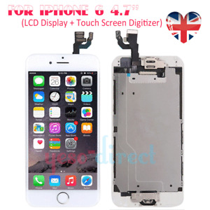 for iPhone 6 Screen LCD Touch Display Digitizer Replacement Home Button White UK