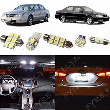 8x White LED lights interior package kit for 1999-2003 Acura TL AL2W