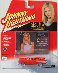 JOHNNY-LIGHTNING-BUFFY-THE-VAMPIRE-SLAYER-XANDER-039-S-1957-CHEVY-BUFFY