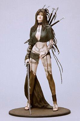 Medusa's Gaze Luis Royo Anime 1/6 Unpainted Figure Model Resin Kit