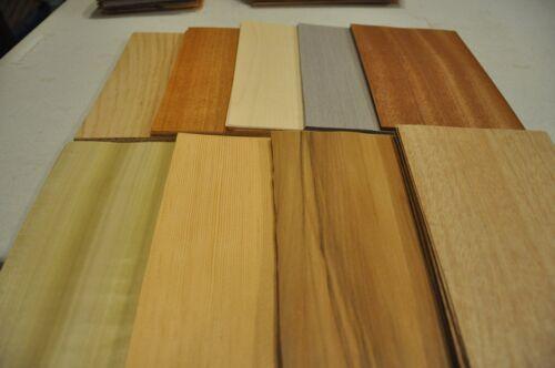 7 sheets of each Mixed wood veneer 9 kind wood veneer IC38 total of 63