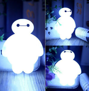 BayMax-Sensor-LED-Night-Light-Bulb-Energy-Saving-Lamp-Home-Children-Kid-Gift-Hot