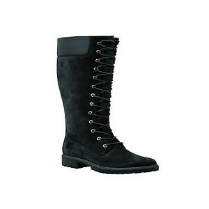 038e7173e85 Timberland Premium 14-inch WP Boot Leather Women BOOTS UK 5 EUR 38 US 7 Cm  24 Black