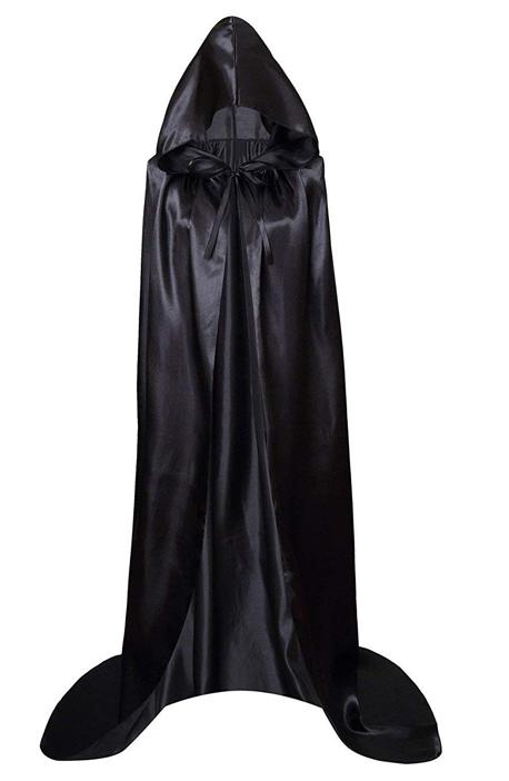 Dreamture Men /& Kids Tunic Hooded Robe Halloween Cosplay Costume Robe Cloak Cape
