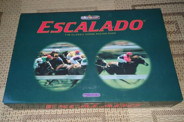 Escalado Horse Racing Game MINT Contents Age 8+ by Chad Valley Family Game