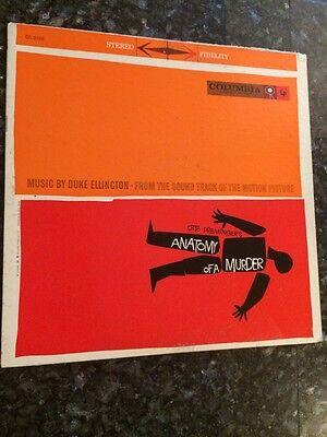 DUKE ELLINGTON Anatomy Of A Murder 6-Eye STEREO LP CS 8166