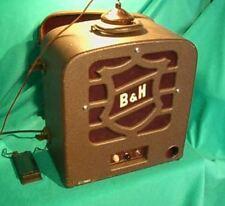 """Vtg Bell & Howell Filmosound Tube Amp w/12"""" Speaker - Guitar/Harp Combo Amp"""