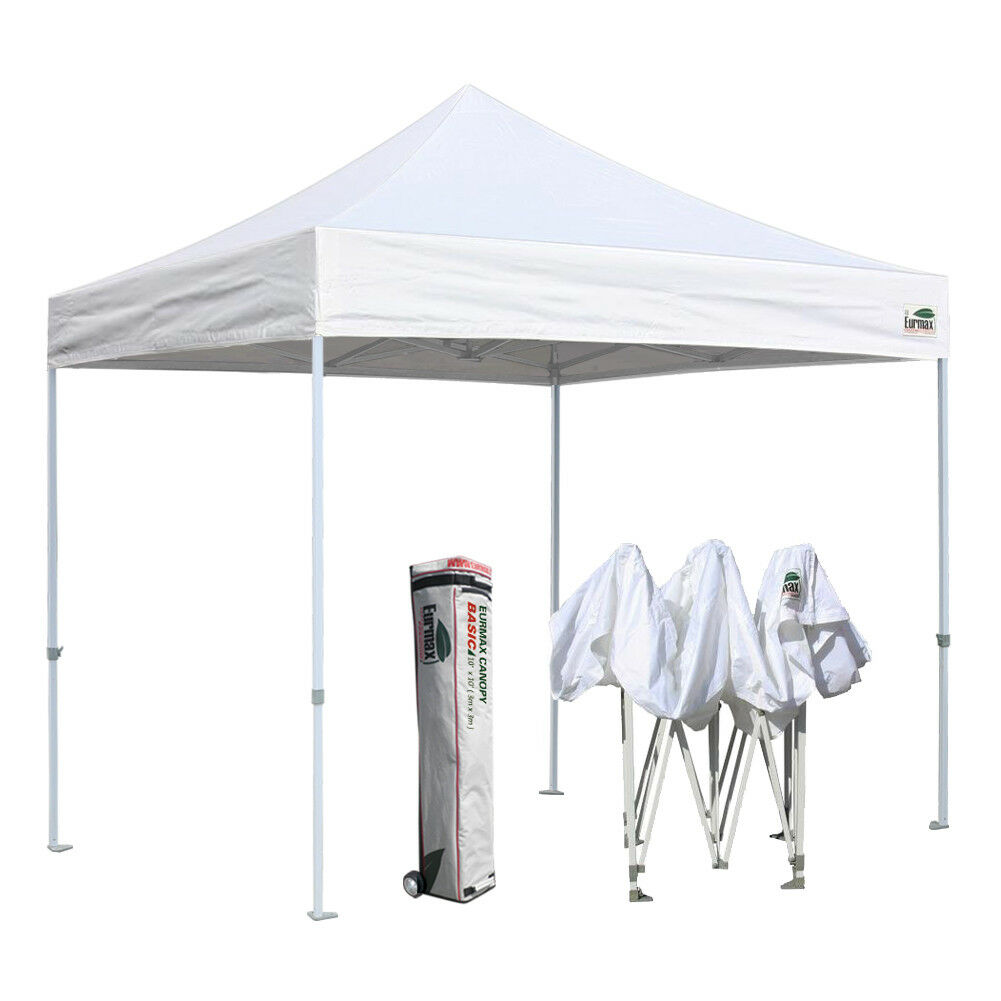 EZ Pop Up Outdoor  Waterproof Event Canopy Instant Party Tent Shade Shelter