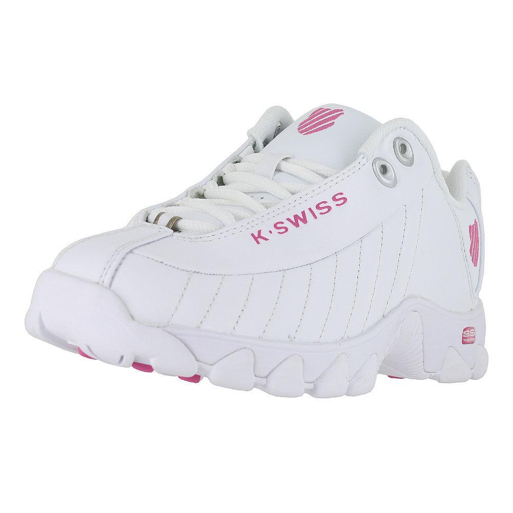 KSWISS ST329 WHITE SHOCKING PINK 93426 156 WOMENS US SIZES