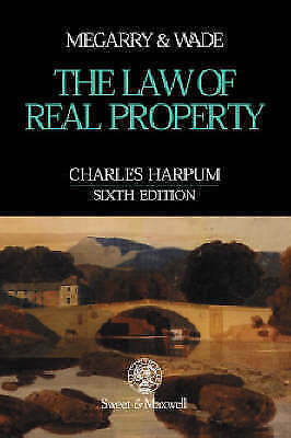 The Law of Real Property: Property and Land Law-ExLibrary