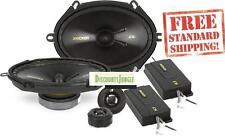 "Kicker 40CSS684 450W 6"" x 8"" 2-Way CS Series Component Car Speakers System CSS68"