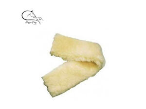 Faux-Sheepskin-Fabric-Fleece-Fur-Girth-Sleeve-Black-Brown-Cream-FREE-DELIVERY