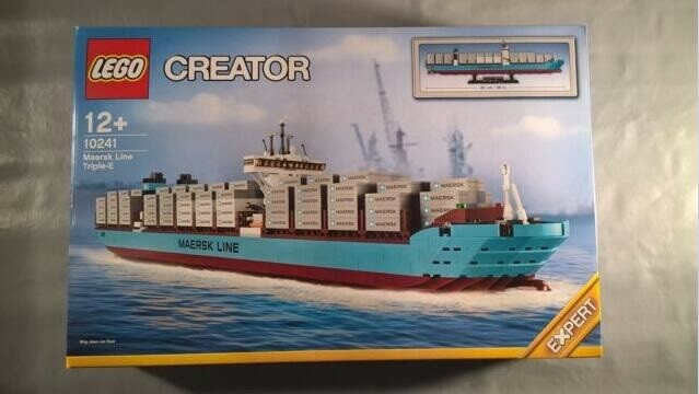 Lego Exclusives, 10241, Lego Creator, Maersk Line Triple E…