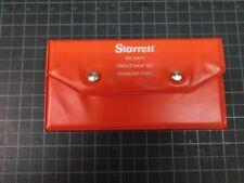 Starrett S167c Radius Gage Set Machinist Tool 164 12