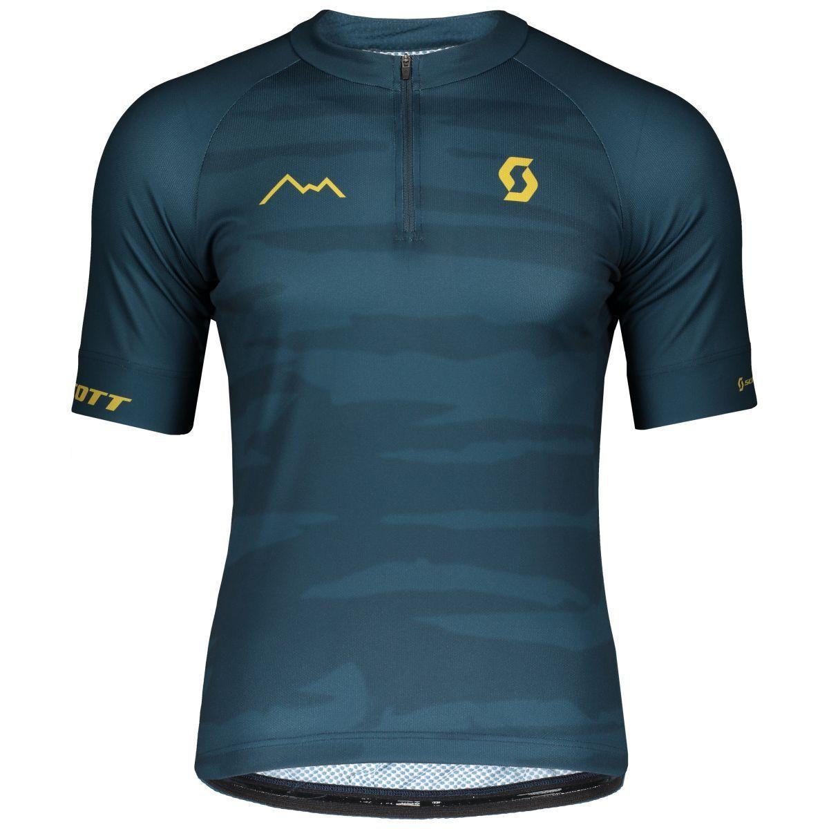 Scott Endurance 20 Fahrrad Trikot kurz blau 2019 2019 2019 d2481d