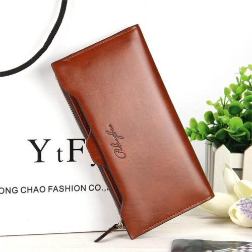 Women Oil Leather Ultrathin Wallet Bright PU Leather Purse Wallet