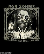 ROB ZOMBIE cd lgo GING GANG GONG Official SHIRT LG New venomous rat regeneration