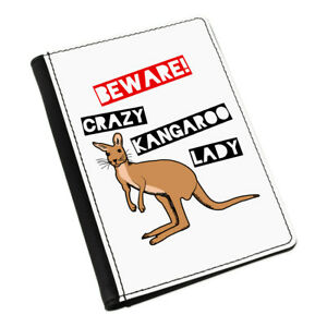 Beware-LOCAS-CANGURO-Mujer-Funda-de-pasaporte-Funda-Cartera-AUSTRALIA-animal