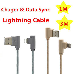 1 3m Adapter Charger Cable Left Right 90 Degree Angle Fr