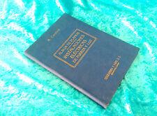 INSTALACIONES ELECTRICAS DE FUERZA Y LUZ, ALBUM, PLANOS, A. CURCHOD 1947