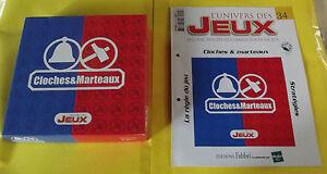 Ancien-Jeu-de-Societe-Cloches-amp-Marteaux-Boite-et-Livret-Regle