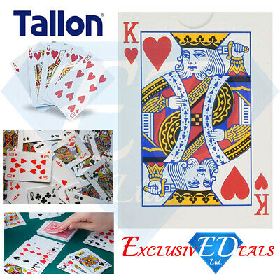 Tallon Bulk Price Plastic Coated Standard Size Original Playing Cards X 12 Packs