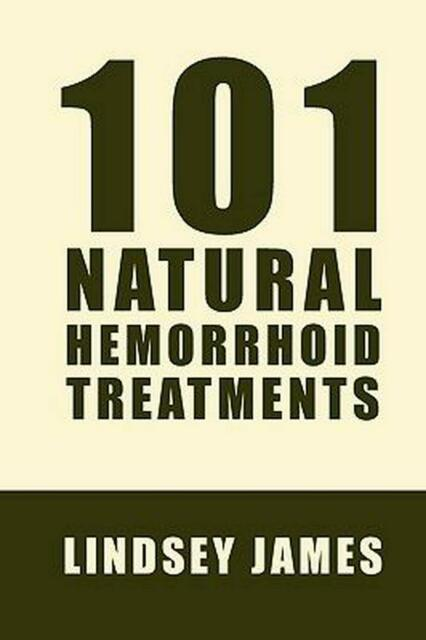 Hemorrhoids Treatment 101 Natural Ways by Andrew Emerson (English) Paperback Boo