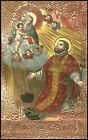 SANTINO HOLY CARD IMAGE PIEUSE - SAN FILIPPO NERI - SACERDOTE