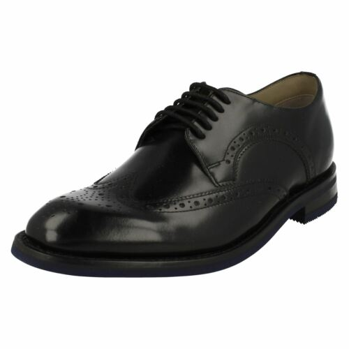 Black Smart Limit Brogues Mens Clarks Swinley 5xp15XZ