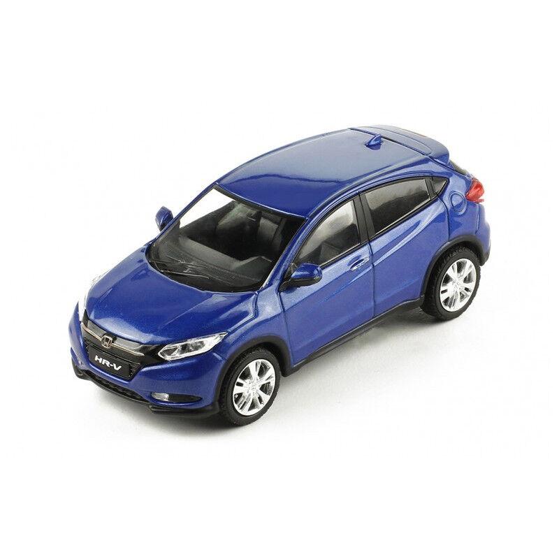 IXO moc204 HONDA HR-V hybride bleu métallisé 2014 échelle 1 43 Voiture Miniature Neuf  °
